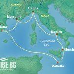 Круизи Испания, Италия, Малта